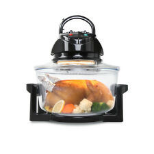 5-Star Chef 17L Convection Oven Halogen Low Fat Roaster Air Fryer Turbo Electric