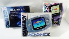 1 Box Protector Game Boy Advance / SP / Color Console  READ! Clear Case Nintendo