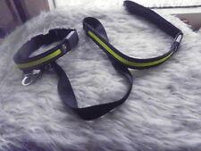 Hasband + Leine Shining Leash Collar NEU leuchtend 34-44 cm Batterie leuchtend