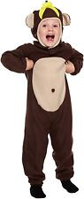 Toddler Monkey Child Fancy Dress Up Party Costume Age 3 World Book Day NEW