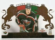 02/03 CROWN ROYALE HOBBY ROOKIES RC #120 Stephane Veilleux #1793/2299