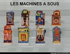 SERIE COMPLETE DE FEVES LES MACHINES A SOUS