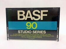 BASF STUDIO SERIES 90 BLANK AUDIO CASSETTE TAPE NEW RARE 1976 YEAR USA MADE