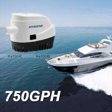 DC12V 750 GPH Automatic Drain Marine Bilge Pump for Bilge Pump Yacht
