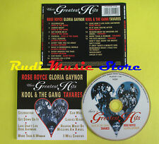 CD THEIR GREATEST HITS compilation 98 GAYNOR ROYCE TAVARES (C6) no mc lp dvd vhs