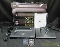 Used NEO GEO AES Console System Tested JAPAN neogeo SNK Game 02