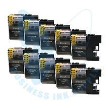 10 BK New LC 203XL 203 Ink Cartridges For Brother J4620DW J480DW J5720DW J885DW