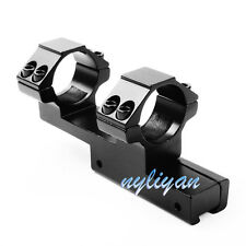 Hunting One Piece 25.4mm Ring 11mm Rail Mount For Scope Laser Sight Flashlight