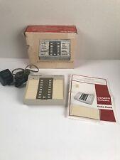 Vtg Radio Shack Duofone 100 Automatic Telephone Memory Dialer Rotary Push Button