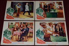 THE HUMAN DUPLICATORS 1964 ORIG. 11x14 LOBBY CARDS (4 diff.) RICHARD KIEL SCI-FI
