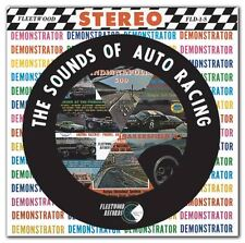 1963 The Sounds of Auto Racing  CD NEW!!