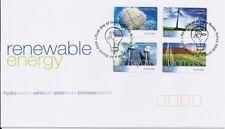 2004 Australia - Renewable Energy Self Adhesive Stamps Fdc
