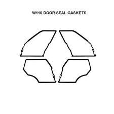 Mercedes Benz W110  Door Seals Weatherstrip OUTER DOOR Seal Gaskets 190 190D