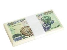 New listing GHANA 1000 1,000 CEDIS AUGUST 2003 P 32 UNC BUNDLE OF (100 NOTES) 100 PCS