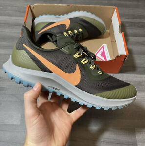NIKE AIR ZOOM PEGASUS 36 TRAIL RUNNING TRAINERS SHOES SIZE UK 7.5