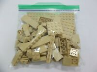 Lego Mixed Parts Lot Tan Arches Blocks Base Misc