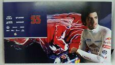 New listing 2015 Carlos Sainz Scuderia Toro Rosso F1 Driver Card Formula 1 Autograph