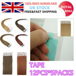 Double Sided Adhesive Pre-Cut Glue Tapes For Tape in Hair Extensions Skin Wefts