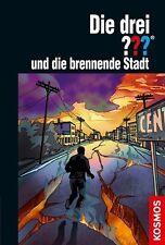 Die drei ??? und die brennende Stadt von Christoph Dittert (2012, Gebundene Ausg