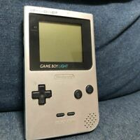 NINTENDO GAME BOY LIGHT Silver color  Japan Console Only No Box Video Game