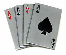 Men's Gambling and Casino Metal Belt Buckle