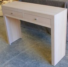 Hall Table with Drawers,1100 wide, OAK
