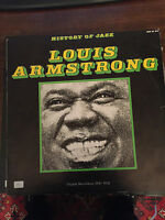 LOUIS ARMSTRONG History of Jazz - LP 33 GIRI