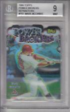 1999 Topps Power Brokers Refractors Card #PB1 Mark McGwire Z17801 - BVG Mint 9