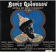 Mussorgsky: Boris Godunov / Dobrowen, Gedda, Christoff, Zareska - LP Emi NM / EX