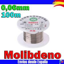 Cable Hilo de MOLIBDENO 100m 0,06mm separador pantalla LCD y Cristal Movil