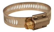 """BREEZE 62024 1-1/16"""" - 2"""" Power Seal Hose Clamp 100-PK Bulk  USA Made  Free Shp"""