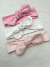 New Baby Girl Head Wrap Bows Gift Set