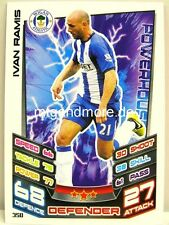 Match Attax 2012/13 Premier League - #350 Ivan Ramis - Wigan Athletic