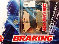 PER KTM EXC 125 1998 98 PASTIGLIE ANTERIORE SINTERIZZATE FRENO BRAKING CM55 SPOR