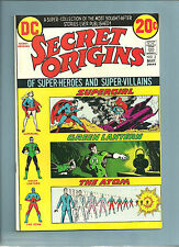 DC COMICS;  SECRET ORIGINS  #2  SUPERGIRL, GREEN LANTERN, THE ATOM  NICE LOOK!!!