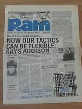 DERBY COUNTY V SWANSEA CITY 31ST MARCH 1981 REARANGED GAME SWANS PROMOTED