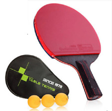 1 pc Timo boll Pro Table Tennis Racket Double Faces Pimples In Pingpong