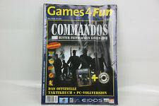 Games 4 Fun Ausgabe 3 Commandos hinter feindlichen Linien Taktikbuch + Spiel PC