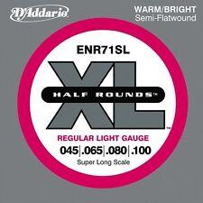 D'Addario ENR71SL Set Bass Half Rnd 45-100 Sl