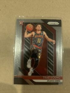 Trae Young RC 2018-19 Panini Prizm Rookie Card #78 Atlanta Hawks