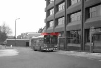 PHOTO  1984 NEW BUS STATION AT WALLINGTON A LEYLAND NATIONAL ON ROUTE 127
