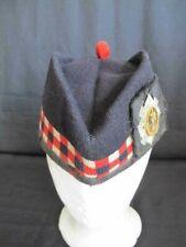 Military Scottish Glengarry Cap with Badge