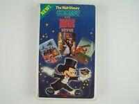 The Walt Disney Comedy and Magic Revue VHS