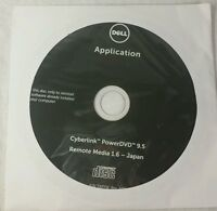 Dell CyberLink PowerDVD 9.5 Reinstallation Disc TX0YW 0T14Y7 SEALED