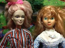 1978 MEGO Make-Up Doll & 1986 New Look Doll By Mattel - Lot Of 2!