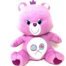 "Care Bears 2013 12"" Purple Share Bear Plush Stuffed Animal Collectible Retired"