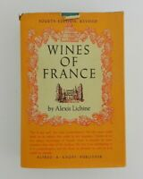 Vintage Hardback Book WINES OF FRANCE 4th Edition Printing Alexis Lichine