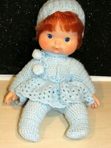 "Strawberry Shortcake BABY REDHEAD Doll BLOWS KISSES Vinyl Cloth 14"" 1982 NICE"