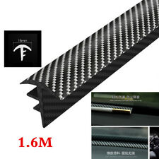 1.6m Carbon Fiber Car Windshield Dashboard Soundproof Dustproof Sealing Strip