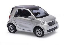 BUSCH 50703 Smart Pour Deux Coupé C453, CMD Argent H0 #neuf emballage scellé#